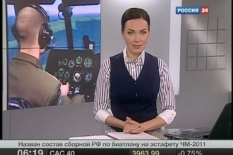 Vesti.Ru / Russian helicopter pilots are taught in a new way
